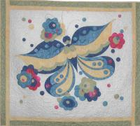 Butterfly Bright Pattern BAD-099