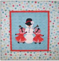 Sunbonnet Snow Day Quilt Pattern BAD-201
