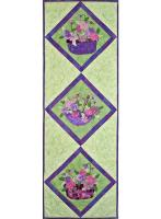 Pretty as a Pansy Quilt Pattern BC-610