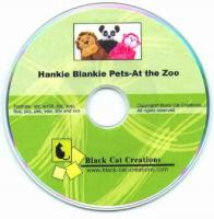 Hankie Pets - At the Zoo CD Pattern  BCC-119