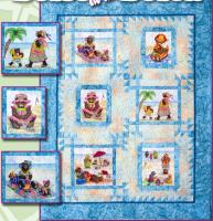Bears at the Beach Pattern  BCC-126