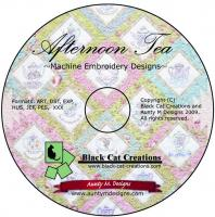 Afternoon Tea CD Pattern  BCC-140