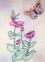 Butterfly Garden BOM - Block 5 Embroidery Pattern BCC-BG05