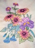Butterfly Garden BOM - Block 8 Embroidery Pattern BCC-BG08
