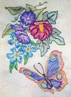 Butterfly Garden BOM - Block 10 Embroidery Pattern BCC-BG10