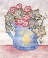 Grandma's Potted Treasures BOM - Block 12 Embroidery Pattern BCC-GPT12
