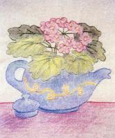 Grandma's Potted Treasures BOM - Block 2 Embroidery Pattern BCC-GPT2
