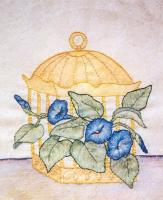 Grandma's Potted Treasures BOM - Block 3 Embroidery Pattern BCC-GPT3