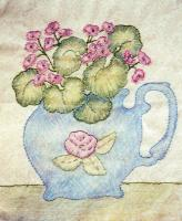Grandma's Potted Treasures BOM - Block 7 Embroidery Pattern BCC-GPT7