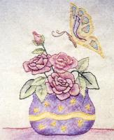 Grandma's Potted Treasures BOM - Block 9 Embroidery Pattern BCC-GPT9