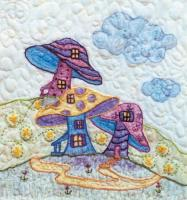 Periwinkle Lane BOM - Block 7 Embroidery Pattern BCC-PL07
