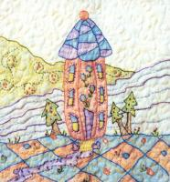 Periwinkle Lane BOM - Block 8 Embroidery Pattern BCC-PL08