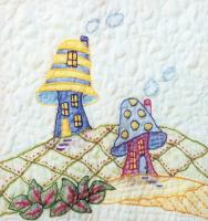 Periwinkle Lane BOM - Block 11 Embroidery Pattern BCC-PL11