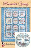Remember Spring Machine Embroidery CD Pattern BCC-RSCD