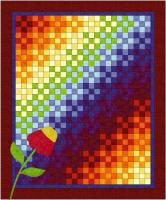 Rainbow Nine Patch Quilt Pattern BL2-102