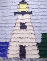 Lighthouse Rag Quilt Pattern BS2-203