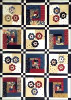Cabins & Posies Quilt Pattern BS2-239