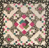 Queen's Courtyard Quilt Pattern BS2-266