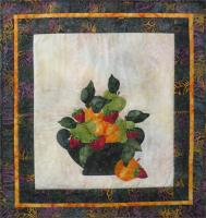 Batik Strawberries and Oranges Pattern BS2-290