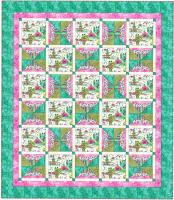 Framed in Diamonds Quilt Pattern BS2-292