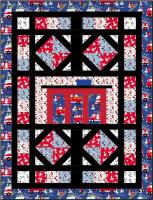 Garage and Roads Quilt Pattern BS2-322