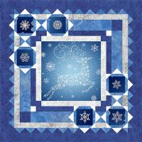 Holiday Snow Quilt Pattern BS2-331