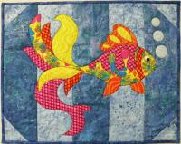 Goldfish Aquarium Quilt Pattern BS2-370