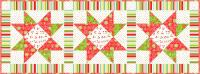 Morning Star Table Runner Pattern BS2-419
