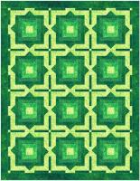 Modern Fabric Illusion Quilt Pattern BS2-431
