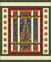 Modern Window Christmas Quilt Pattern BS2-448