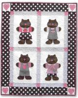 My Cute Kitty Quilt Pattern CAM-553