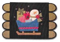 Sleigh Ride Penny Rug Pattern CAM-557