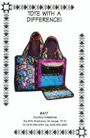 Tote With a Difference Pattern CC-418