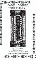 Bargello Strips Table Runner Pattern CC-482
