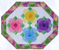 Spring Posies Table Mat Pattern CC-508