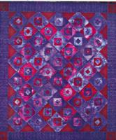 Quilt as You Go Wavy Batik Quilt Pattern CCD-128