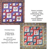 Make It Your Own Wallhanging or Quilt Pattern CCD-132