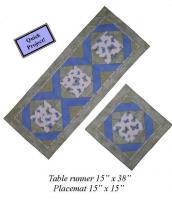 Three Step Table Runner & Placemats Pattern CCD-134