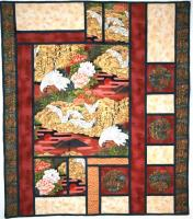 Gardens of Serenity Wall Hanging Quilt Pattern CF-227