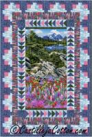 Wilderness Panel Quilt Pattern CJC-37123