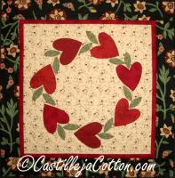 Circle of Hearts Pattern CJC-4004