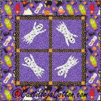 Ghostly Harvest Moon Quilt Pattern CJC-4050