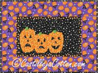 Scary Pumpkins Quilt Pattern CJC-4060