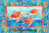Cruising Turtles Quilt Pattern CJC-4153