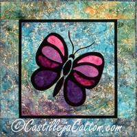 Stained Glass Butterfly Pattern CJC-4275
