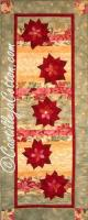 Floating Poinsettias Pattern CJC-4277
