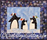 Penguins Finding Their Way Quilt Pattern CJC-4413