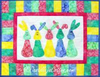 Bunny Parade Quilt Pattern CJC-4540