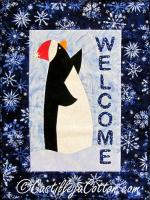Penquin Welcome Quilt Pattern CJC-4542