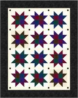 Four Star Patch Quilt Pattern CJC-46132